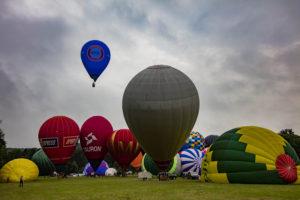 Pierwszy lot balonowy za nami