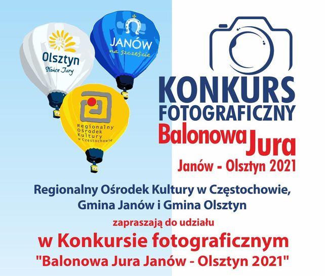 """KONKURS FOTOGRAFICZNY """"BALONOWA JURA JANÓW – OLSZTYN 2021″"""